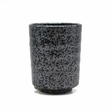 Japanese Traditional Handcrafted Silver Granite Teacup