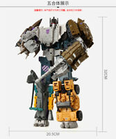 Onslaught Robots Transformers Rare Blast Off Bruticus Classic Gift Action Figure