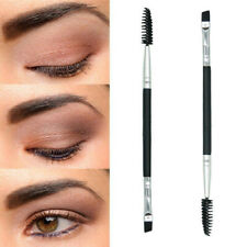 Eyebrow Brush Dual-ended Duo Brow Eyeliner Angled Cut Spoolie Brush Makeup Tool~