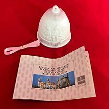 1987 Lladro Spain 1st Annual Porcelain Christmas Bell Children Nib Retaired