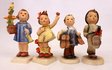 Hummel (4) Figurines inc Spring Cheer 72 RARE Crown TMK-1 and 17/0, 143/0, 79