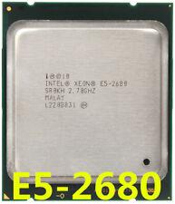 Intel Xeon E5-2680 CPU 8-Core 2.7GHz 20M 8 GT/S LGA2011 SR0KH Processor