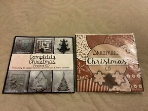 Dreamees craft CDs x 2, Christmas Themes