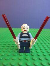 genuine LEGO STAR WARS ASAJJ VENTRESS minifigure LIGHTSABER FIGURE 7676 set 347
