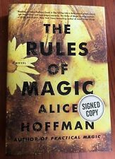 """Alice Hoffman• The Rules Of Magic• SIGNED (2017 1st Edition/Printing) """"Like"""" New"""