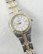 Relic Woman's ZR11785 Stainless Steel Analog Date Crystal Encrusted Glitz Watch