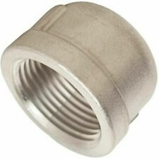"""1/2"""" 316 Stainless Steel Pipe Cap 9 Pieces"""
