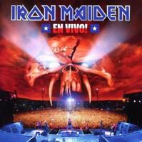 Iron Maiden - En Vivo! (NEW 3 VINYL LP)