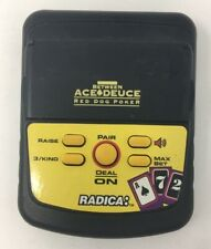 "Radica ""Pocket Between Ace Deuce Red Dog Poker"" hand held electronic game."