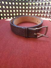 Tony Lama Men's Brown belt 47614 size 40 pre owned E2