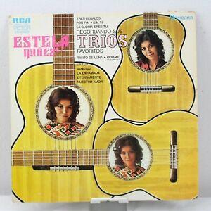 Estela Nunez Recordando Sus Trios Favoritos Vinyl Record LP VG+ MKL/S 1961