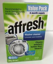 Affresh Value 6-Pack Washer Cleaner Tablets Whirlpool