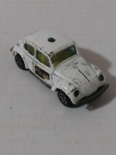 Corgi Juniors Whizzwheels Volkswagen 1300 Police Car White Made in Great Britain