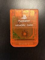 Sony OEM Psone 1MB Memory Card For PlayStation 1 PS1 Expansion DVL612 2E