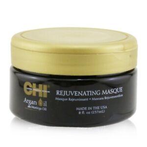 NEW CHI Argan Oil Plus Moringa Oil Rejuvenating Masque 237ml Mens Hair Care