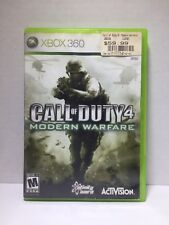 xbox 360 games call of duty modern warfare