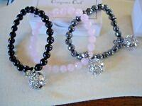 Lisa Hoffman by Origami Owl Fragance Bracelets Genuine Stone
