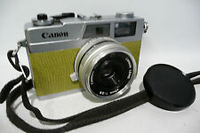 Fully Serviced CLA'd Canon Canonet 28 35mm Rangefinder Film Camera + New Seals