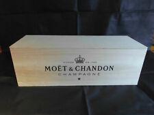 Moët Chandon Vintage Holzkiste für 6l Flasche Champagner leer Deko Etui OHK