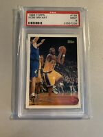 Topps 1996-97 Kobe Bryant #138 PSA 9 RC Rookie Card invest!!! Basketball Trading