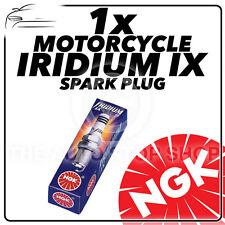 1x NGK Iridium IX Bujía de actualización para Peugeot 50cc Trekker 50 97 - > 04 #7067