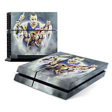 Skin Decal Cover Sticker for Sony PlayStation 4 PS4 - Stephen Curry Warriors