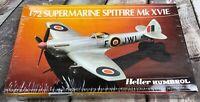 Heller 1/72 80282 Supermarine Spitfire Mk XVIE Model Kit Sealed
