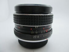 Quantaray SC Pentax K mount Camera Lens f2.8 28mm PK Pentax