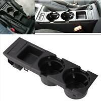 For BMW E46 325 328 330 1999-06 UK Center Console Drink Cup Holder Coin Storage