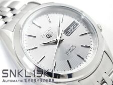 SEIKO 5 SNKL15 SNKL15K1 21 Jewels Automatic White Ready to Ship !