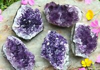 URUGUAYAN AMETHYST CRYSTAL CLUSTER - WEIGHT 181g-200g Natural Raw Mineral Druzy