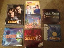BOARD GAME DVD Only Spares Authentic Replacement Trivia Movie Scene It Disc New
