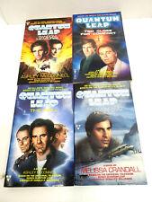 Vintage Lot of 4 Quantum Leap Tv Series Paperback Books- Unread (M-8160)