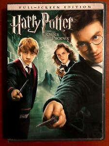 Harry Potter and the Order of the Phoenix (DVD, 2007, Full Frame) - E1216