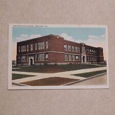 Vintage Postcard Decatur High School, Decatur, Ala.
