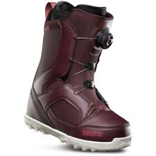 THIRTYTWO WOMEN'S STW BOA SNOWBOARD BOOT IN BURGUNDY SIZE 6