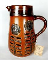 ACHIM GELHARD Vintage Krug Rembserhof Keramik Ransbach Baumbach mit Zertifikat