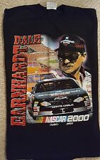 New w/o tag 2000 DALE EARNHARDT - NASCAR Winston Cup Schedule (XL) T-Shirt
