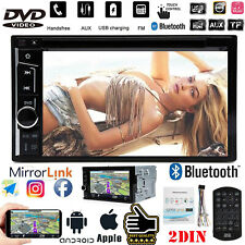 Touchscreen 6.2 inch car DVD player 2DIN Mirror Link For CHRYSLER /JEEP /DODGE