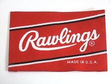 "Rawlings Embroidered Cloth Baseball Softball Glove Label Patch 3"" X 2"" FREE SHIP"