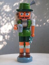 vintage german nutcracker bavarian + hb mug, 27cm, christmas, collectors