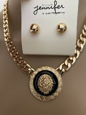 Lion Gold Chain Necklace, NEW