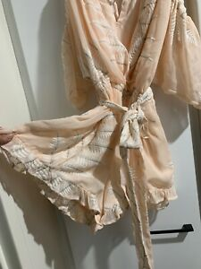 Seed Heritage Pale Pink Playsuit - Size 10