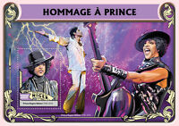 Niger 2016 MNH Tribute to Prince 1v S/S Music Celebrities Stamps