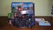 Playmobile 6627 Caballeros Castillo con mazmorra en Caja 2 Piezas Faltantes