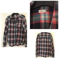 Hollister Mens Shirt Size M Medium Excellent Condition Long Sleeve (311)