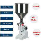 Manual 5-50ml Liquid Filling Machine Cosmetic Filler Cream Shampoo Paste Water