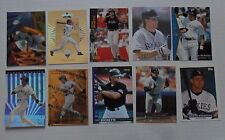 1521 ~ Lot of 10 Different Dante Bichette MLB Baseball Cards ~ Colorado Rockies