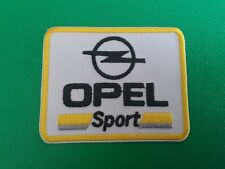 MOTOR RACING CAR MARQUE SEW ON / IRON ON PATCH:- OPEL SPORT (a) MANTA GTE ASTRA