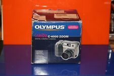 OLYMPUS   CAMEDIA C-4000 4MP DIGITAL CAMERA   3x OPTICAL ZOOM WITH CASE   BOXED